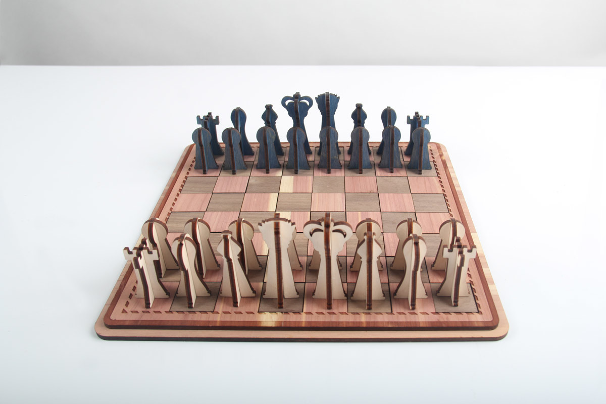 Johnson Plastics Plus Get Inspired Custom Chess 3